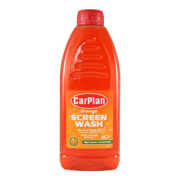 CarPlan卡派爾 高濃縮雨刷精(橙香),保持前擋清潔!