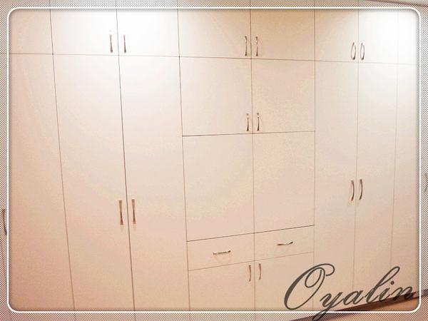 【系統家具】系統櫃 強大收納空間~系統衣櫃&TV櫃 EGGER E1-V313防潮塑合板 客製化訂做