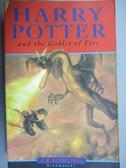 【書寶二手書T3/原文小說_JQT】Harry Potter and the Goblet of Fire_J. K. Rowling