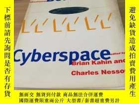 二手書博民逛書店borders罕見in cyberspace(英文原版書)Y26