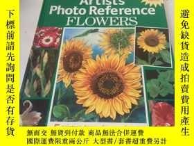 二手書博民逛書店artist′s罕見photo reference flower