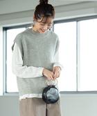 針織背心 上衣 小羔羊毛 可手洗 免運費 日本品牌【coen】