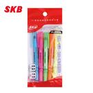 SKB IK-20#5c 固體螢光筆(3.5g)5色 / 包