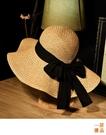 草帽 遮陽帽 防曬帽 遮臉 太陽帽 漁夫帽 日系 沙灘帽 海邊 草帽 優一居