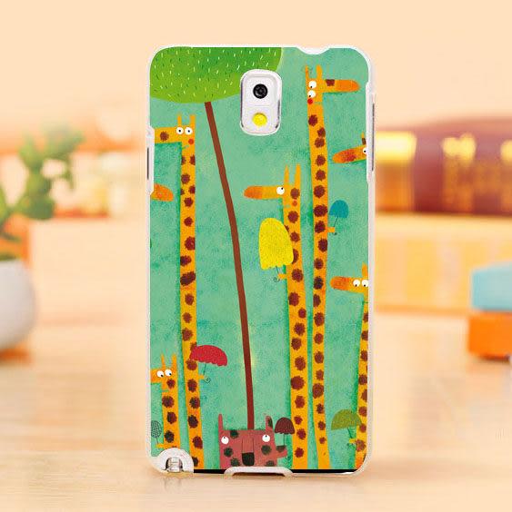 [ 機殼喵喵 ] 三星 Samsung i9600 Galaxy S5 手機殼 客製化 照片 外殼 全彩工藝 SZ011 長頸鹿