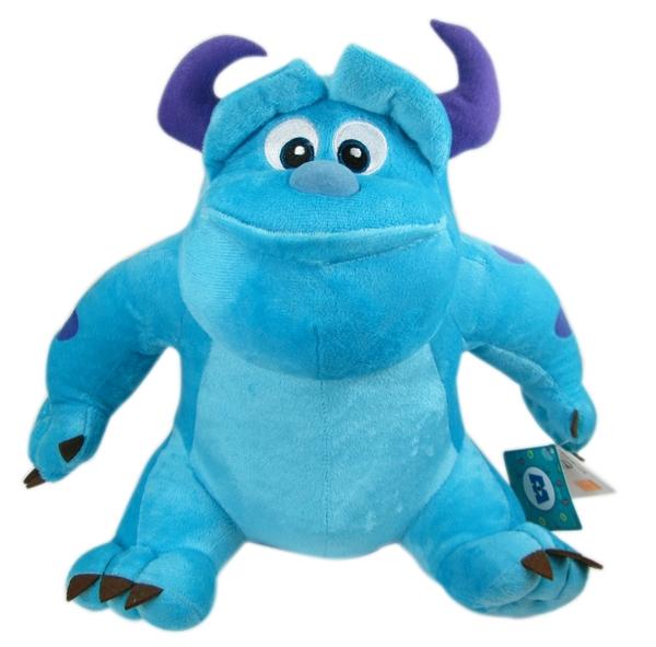 【卡漫城】 毛怪 玩偶 坐姿 30cm ㊣版 怪獸大學 Sulley 怪獸電力公司 絨毛娃娃 佈置 擺飾 MU