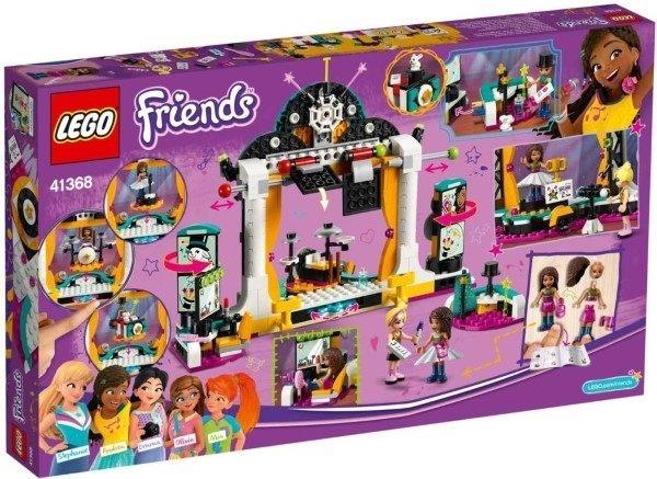 【LEGO樂高】FRIENDS 安德里亞的才藝競賽 #41368