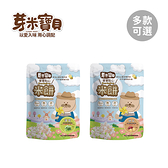 YummyBaby 芽米寶貝 花朵米餅 (菠菜/地瓜) 40g