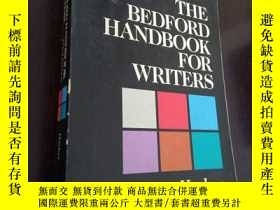 二手書博民逛書店THE罕見BEDFORD HANDBOOK FOR WRITER