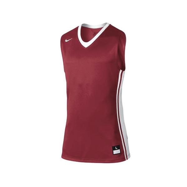 Nike National Varsity Stock [639395-670] 男 籃球 背心 快乾 單面 球衣 酒紅