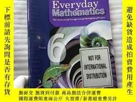 二手書博民逛書店Everyday罕見Mathematics Assessment Handbook Grade 6 英文原版 大1