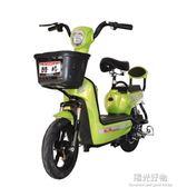 電動自行車機車電動車成人電瓶車小型女性48v迷你踏板電車 NMS陽光好物