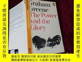 二手書博民逛書店THE罕見POWER AND THE GLORY (小32開)Y