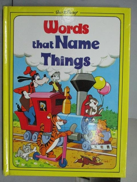【書寶二手書T8/少年童書_PNT】Words that Name Things_Disney
