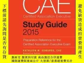 二手書博民逛書店CAE罕見Study Guide 2015: Preparation Reference for the Cert
