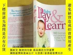 二手書博民逛書店Baby罕見Play and Learn: 160 Games