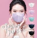 【脫妝救星】睿昱不易脫妝 防護口罩 3D...