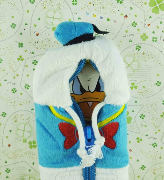 【震撼精品百貨】Donald_唐老鴨~絨毛筆袋-臉