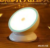 充電池led臥室起夜光控聲控床頭節能小夜燈過道人體感應    LY4972『M&G大尺碼』TW
