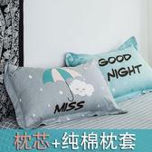枕頭男生款單人學生宿舍床寢室整頭枕芯護頸枕可愛卡通可拆洗女孩 免運直出 交換禮物