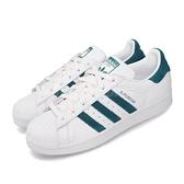 【六折特賣】adidas 休閒鞋 Superstar W 白 綠 女鞋 運動鞋 貝殼頭 【ACS】 EF9248