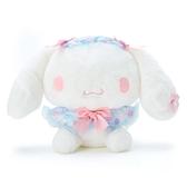 小禮堂 大耳狗 沙包絨毛玩偶 沙包娃娃 櫻花玩偶 小型玩偶 布偶 (藍 大和櫻花) 4550337-34907