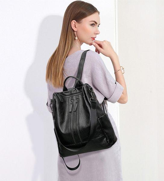 背包 後背包 側背包 書包 單拉鏈防盜設計【城市風潮】 DL CY315
