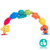 【美國Creative Baby】Spuddies 寶寶接龍洗澡玩具海洋俱樂部10入一組(Bath Pop Beads)
