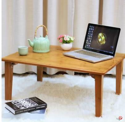 百山九川楠竹炕桌榻榻米折疊桌竹兒童學習收納床上電腦桌