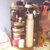 超大容量旋轉透明亞克力化妝品收納盒桌面梳妝台護膚品可置物架igo    西城故事