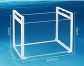 烏龜缸 烏龜缸帶曬臺魚缸別墅客廳養龜小型鱷龜養烏龜專用缸玻璃家用大型 JD特賣