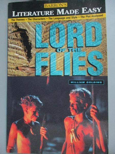 【書寶二手書T6/翻譯小說_QFQ】Literature Made Easy Lord of the Flies_Har