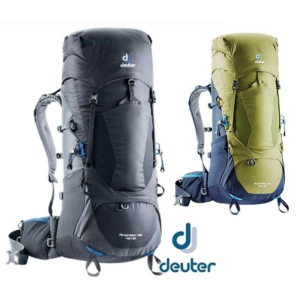 丹大戶外【Deuter】德國 AIRCONTACT LITE 拔熱式透氣背包40+10L 兩色 3340118 後背包