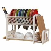 瀝水架置物架碗架碗柜裝碗筷收納YJT 暖心生活館