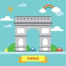 LOVIN 超萌韓版數字油畫 城市系列 巴黎凱旋門(3) 1幅