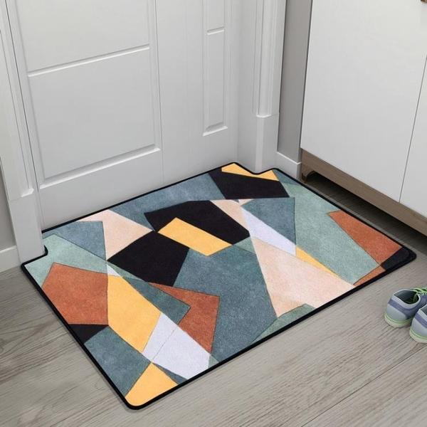 北歐主題地墊門墊腳墊進門入戶門廳大門口玄關地板墊子地毯定制 璐璐生活館