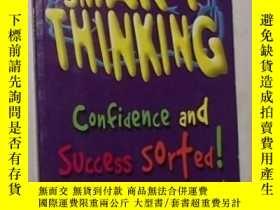 二手書博民逛書店英文原版罕見Smart Thinking:Confidence