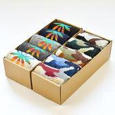 長襪禮盒(5雙裝)-冬季保暖時尚迷彩羊毛男士襪子套組2款72s13【時尚巴黎】