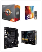 (C+M+S)AMD R5 3600X【6核/12緒】+ 華碩 TUF GAMING B550-PLUS + Intel 760P 256G M.2 SSD