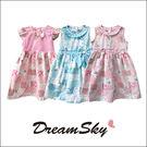 泰國 兒童 格紋 繽紛 可愛 洋裝 拼接 無袖 童裝 女寶洋裝 裙子 Dreamsky