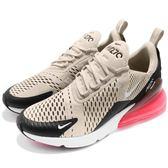 Nike 慢跑鞋 Air Max 270 黑 咖啡 大氣墊 大型後跟氣墊 舒適緩震 運動鞋 男鞋【PUMP306】 AH8050-003
