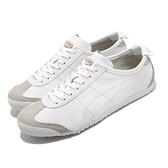 Onitsuka Tiger 休閒鞋 Mexico 66 白 灰 黑 男鞋 女鞋 低筒 皮革 運動鞋 【ACS】 DL4080101