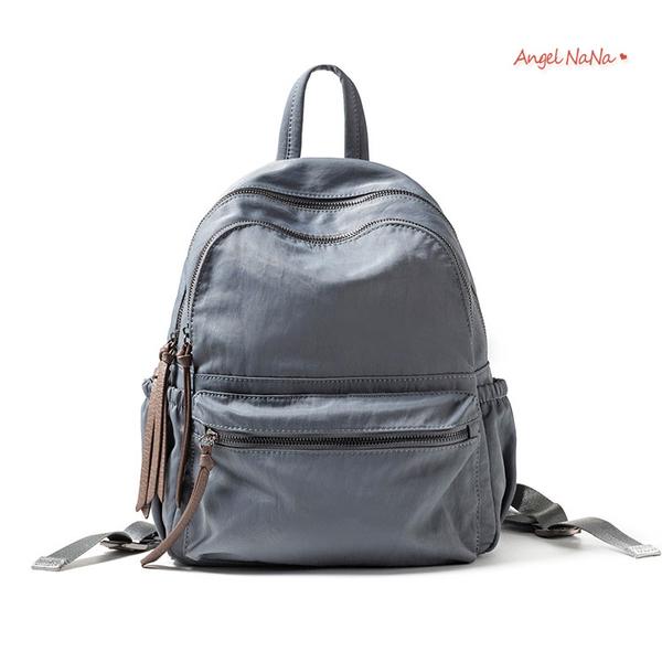 全館滿399超商免運費~後背包。高質感防潑水百搭牛津布雙肩包書包 (SBA0373) AngelNaNa