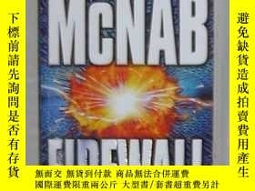 二手書博民逛書店英文原版罕見Firewall by Andy McNab 著Y1