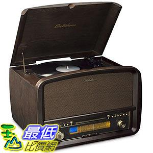 [105美國直購] Electrohome EANOS700 攜帶式 唱盤機 黑膠唱盤 Signature Vinyl Record Player