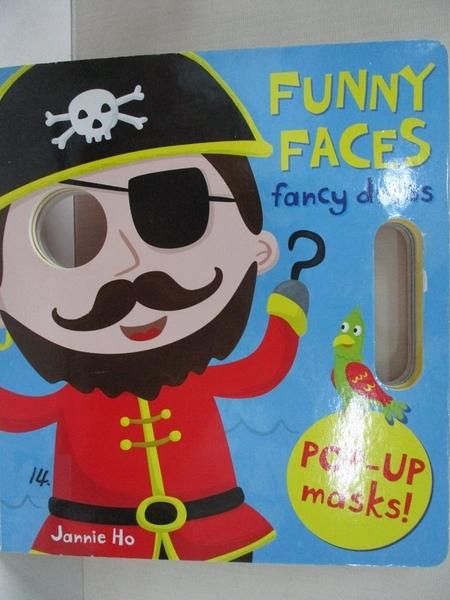 【書寶二手書T1/少年童書_IM6】Funny Faces: Dressing Up_Jannie Ho