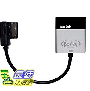 [美國直購] Bovee WMA3000A+ Wireless Bluetooth Music Interface Adaptor 適配器 for in car iPod Integration