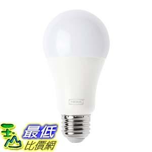 [7美國直購] TRÅDFRI LED bulb E26 1000 lumen, wireless dimmable, warm white globe opal