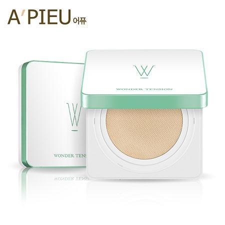 韓國 A'PIEU Wonder Tension 奇蹟方型氣墊粉底霜 13g 氣墊粉餅  A pieu APIEU