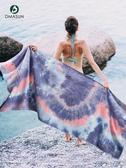 迪瑪森瑜伽毯鋪巾吸汗防滑便攜墊布毛巾瑜珈休息術初學者女蓋毯被
